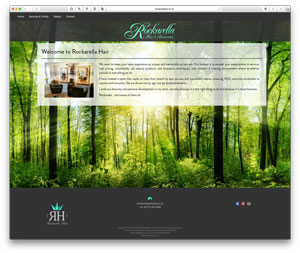 Rockarella Hair Salon Website