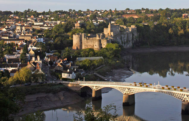 accommodation in centre of Chepstow